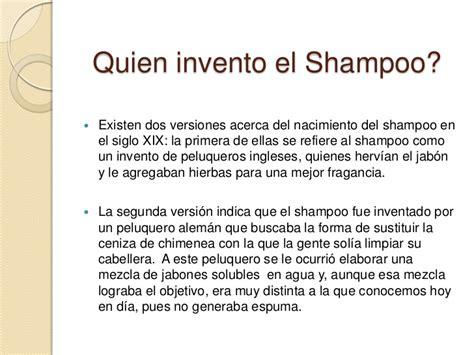 Historia Del Shampoo