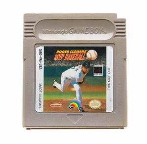 Roger Clemens Mvp Baseball  U2b50 Gameboy Game