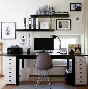 Home Office Einrichten Ideen : 39 besten ideen b ro arbeitszimmer einrichtung bilder auf pinterest arbeitsbereiche b ros und ~ Bigdaddyawards.com Haus und Dekorationen