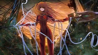 Evangelion Asuka Anime Langley Soryu Neon Genesis