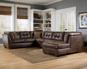 livingroom sectionals cozy leather sectional sofa for living room home design ideas 2017