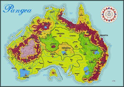 Island of Pangea - World map by TakamiKinomiya on DeviantArt