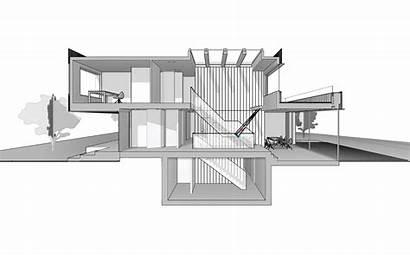 Villa Architects Marc Architecture Window Kitchen Water