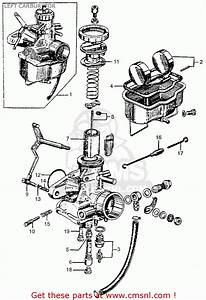 Honda Cl77 Scrambler 1965 Usa    305 Left Carburetor