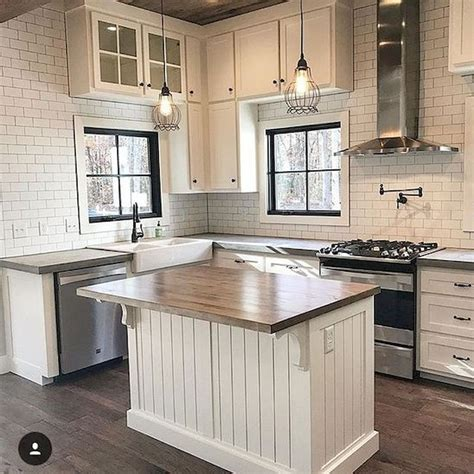 Farmhouse Kitchen Countertops by 60 Great Farmhouse Kitchen Countertops Design Ideas And