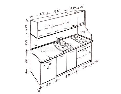 interior design kitchen images modern interior design kitchen freehand drawing stock 4775