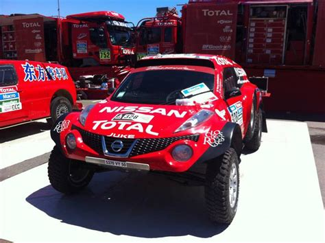 nissan dakar juke in the dakar rally