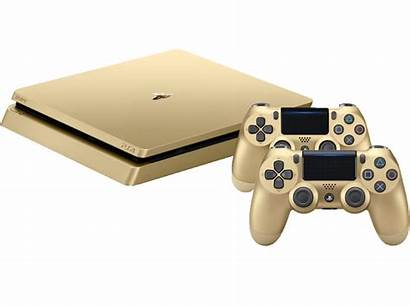 Playstation Slim Ps4 Goud Controllers Sony Gb