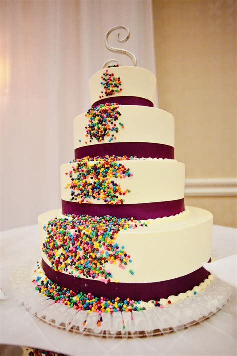 Non Traditional Wedding Cake Wedding Inspirations
