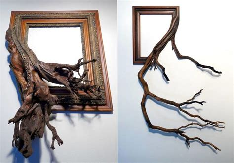 tree branch photo frames real tree branches