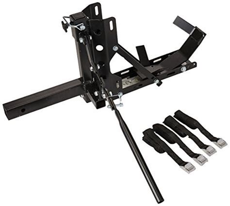 TMS 800 lbs Motorcycle Trailer Hitch Carrier Hauler Tow