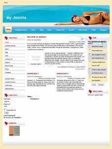 download template joomla 15 e learning free balladolis With joomla org templates