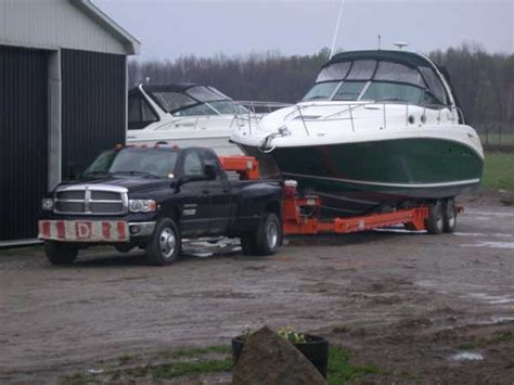 Boat Transport Midlands by Boat Hauling And Transportation In The Orillia Barrie