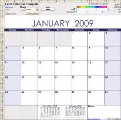 Free Excel Template Excel Calendar Template For 2016 And Beyond