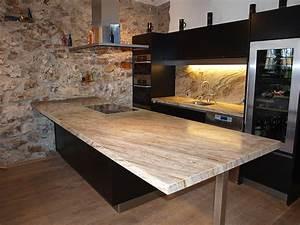 Granit Arbeitsplatten Für Küchen : k chen aus naturstein hygienisch langlebig edel ~ Bigdaddyawards.com Haus und Dekorationen