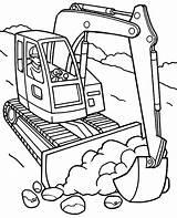 Excavator Koparka Kolorowanki Kolorowanka Wydruku Samochody Excavadora Pala Druku Topcoloringpages Motorcars Dzieci Quady Terenowe sketch template