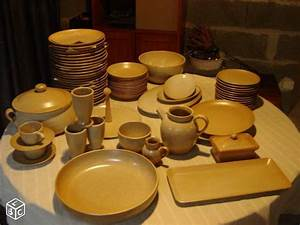 Vaisselle En Grès : service en gres village de 80 pieces arts de la table vend e clermont ferrand ~ Dallasstarsshop.com Idées de Décoration