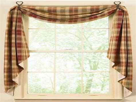 curtain ideas country kitchen window curtains ideas