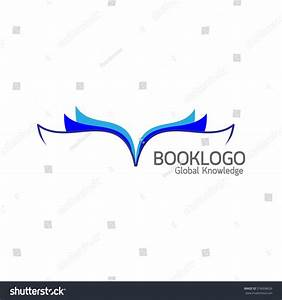 Blue Book Logo On White Background Stock Vector 316008626 ...