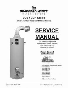 Bradford White Uds Series Service Manual