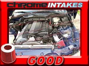 Black Red 1997 1998 1999 2000 2 5l  2 8l  3 0l Air Intake