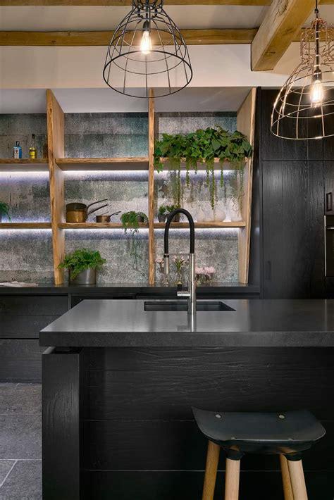 arbeitsplatte küche oldenburg moderne k 227 188 che mit holzbar theofficepubgraz