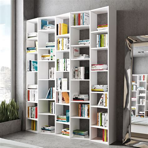 White Backless Bookcase by Valsa Modern 72 Quot Bookcase By Temahome Eurway Furniture