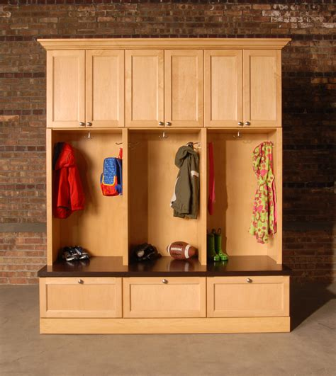 storage cabinet storage ideas  mudroom lockers