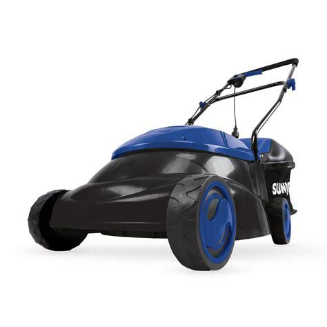 sun joe    amp electric walk  push lawn mower