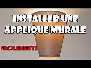 Comment Installer Un Lustre : comment remplacer un luminaire au plafond doovi ~ Dailycaller-alerts.com Idées de Décoration