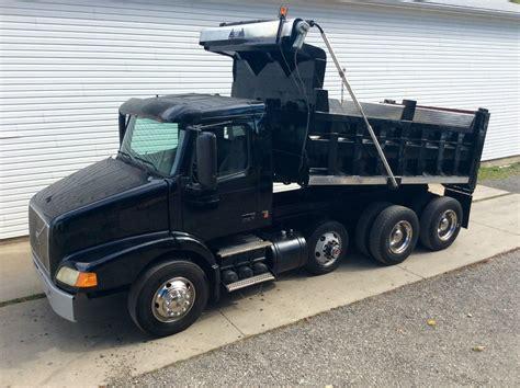 volvo  triaxle dump truck  sale