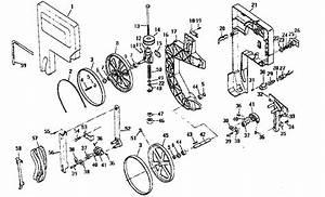 Craftsman 113248212 Band Saw Parts
