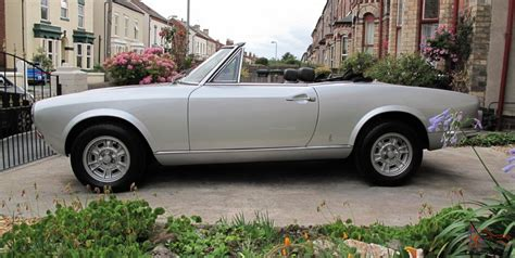 1973 Fiat 124 Spider by 1973 Fiat 124 Spider Convertible Restored And Stunning