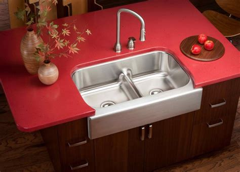 wooden  standing kitchen sink home design lover