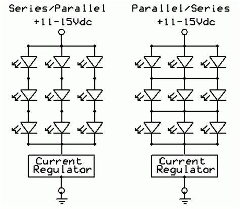 Led Series Parallel Combination