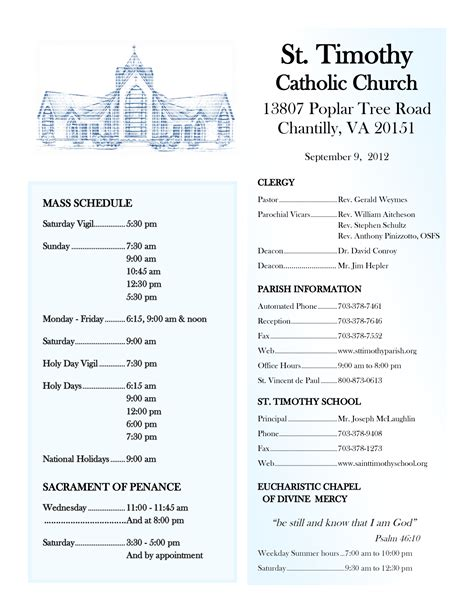 Sle Church Bulletins Templates by Attractive Church Order Of Service Program Template