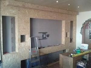 Wohnzimmer Tv Wand Ideen : toom kreativwerkstatt kino und tv wand ~ Orissabook.com Haus und Dekorationen