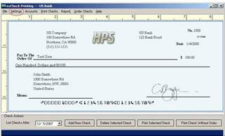 Check Routing Account Number Font