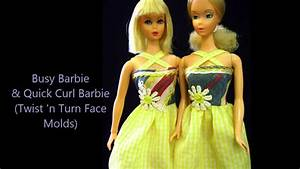 1970 S Designs Barbie Dolls Collection Vintage 1970s Youtube