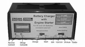 Page 6 Of Harbor Freight Tools Battery Charger 03418 User