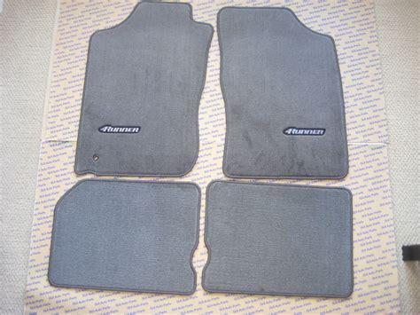 4runner floor mats toyota 4runner floor mats gray genuine oem new 1996
