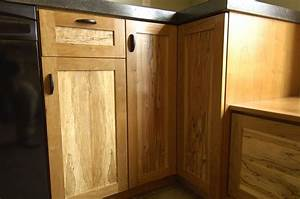 Bookmatched Spalted Maple And Cherry Kitchen