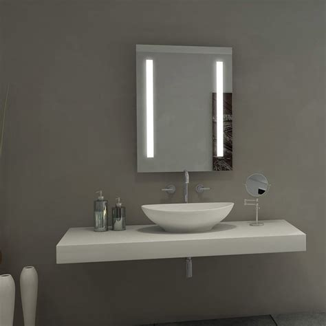 Led Backlit Bathroom Mirror by Mirrors Backlit Bathroom Mirror For Your Modern