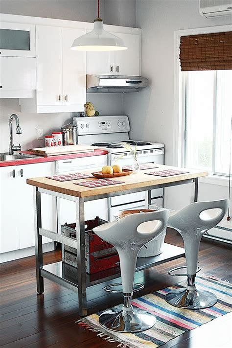 kitchen island small apartment 20 functional kitchen island exles for a small 5156