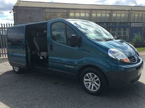 Trafic 9 Seater by Renault Trafic Ll29 Dci 115 9 Seater Minibus In Walsall