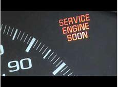 que significa SERVICE ENGINE SOON en el tablero de mi