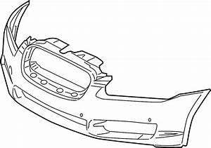 Jaguar Xf Bumper Cover  Liter  Wpark  Sensor