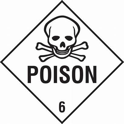 Coloring Poison Safety Signs Sign Printable Pages