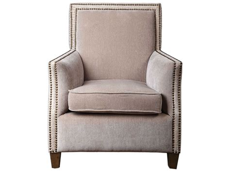 Uttermost Darick Oatmeal Accent Chair