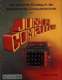 elektor junior computer buch  german retro commodore